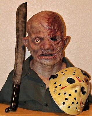 SPFX Jason Voorhees Friday The 13th Silicone Mask Not CFX Immortal Realflesh