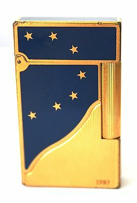 "S.t.dupont Feuerzeug ""europa"" Limited Edition 1993 Lighter"