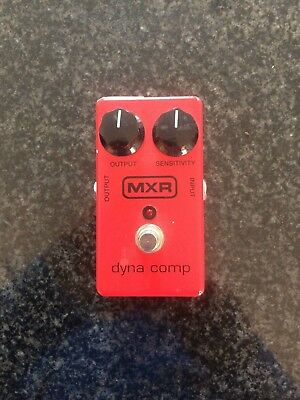MXR Dyna Comp Guitar Effects Pedal - Used