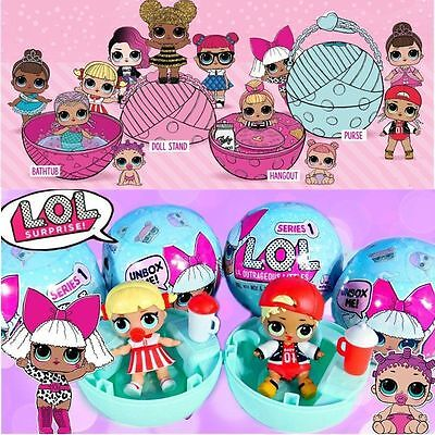 Surprise Ball LOL Lil Outrageous 7 Layers Series 2 Doll Blind Mystery Ball Toy