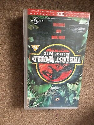 Jurassic Park The Lost World Video vhs