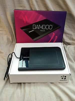 Wacom Bamboo Touch Tablet Ctt-460 Usb Pc Mac Graphics Tablet Multi Touch