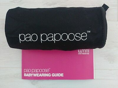 we made me pao papoose 3 in 1 front and back baby carrier sling 4-36 months