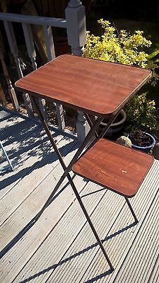 Vintage  Display 2 Tier  Folding Projector  Stand