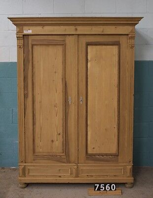 Antique Pine Knockdown Wardrobe