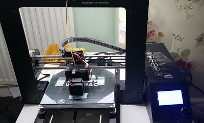 Wanhao Duplicator i3 v2.1 3D Printer with glass bed, LED Lights new PSU.