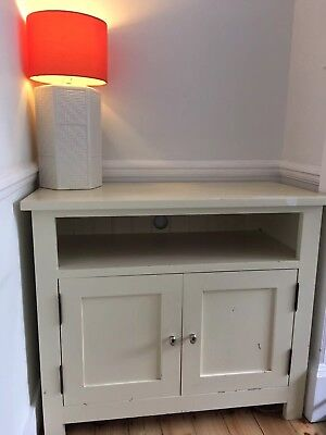 Painted Cream Pine Wooden Sideboard /Cabinet /Cupboard - Needs some TLC