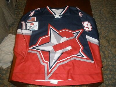 Greensboro Generals Game Used Road Hockey Jersey #19 Markovsky OT XXL ECHL 01-02