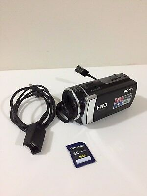 Almost Brand new SONY HDR-CX190 Camcorder 300x DIGITAL ZOOM FREE 16GB SD CARD
