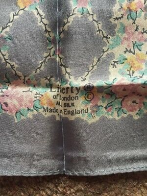 Liberty Of London Silk Handkerchief Bnip