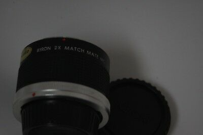 This Kiron 2X Match Mate Teleconverter MC, Canon FD Mount