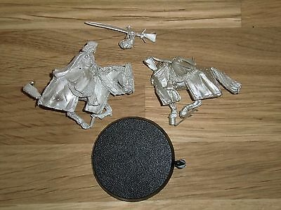 Aragorn the King Mounted - LOTR Metal Unpainted