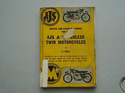 Ajs & Matchless Twin Motorcycles Manual
