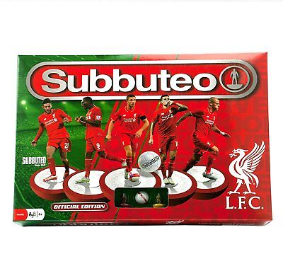 Official Subbuteo Liverpool Football Club Team Edition Main Game - Brand New