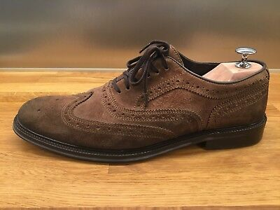 Selected Homme Brown suede Brogues, Size 43, in great condition