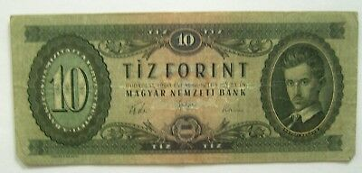Banknote>Hungary>10 Forint>24.08.1960>Good Cond.<