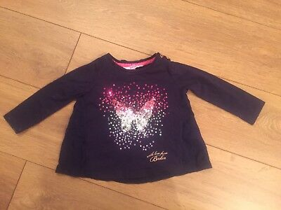 Girls 12 - 18 Months Baby Baker Top By Ted Baker
