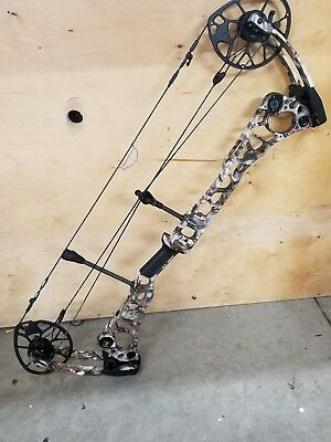 Mathews Halon 32 7 Compound Bow RH 70# lost xd