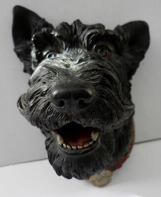 "Bossons Terrier Dog Wall Plaque ""mac"" Good Condition"