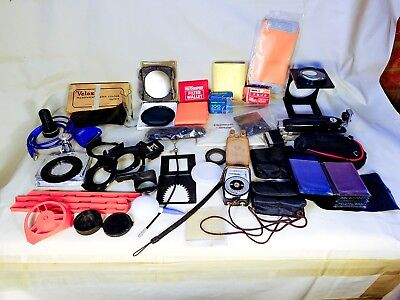 Photographic equipment spares & lots of old interesting items.