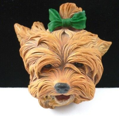 Bossons Terrier Dog Wall Plaque  Good Condition 1957
