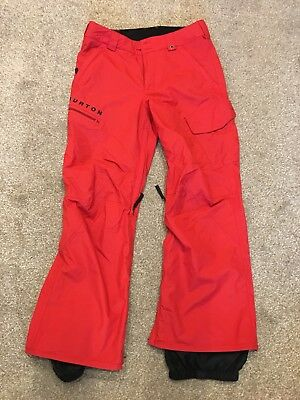 Burton Snowboard Pants (small In Red)