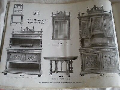 Vintage catalogue French Furniture 1920s AR Art Deco Louis XV