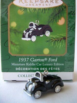 2001 Hallmark 1937 Garton Ford Kiddie Car Series Miniature Ornament  NEW