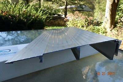 """EZ Access"" Aluminum Threshold Ramp 3"" x 34"" Wide, Wheelchair Scooter Entry"