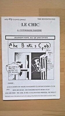 Clydebank FC - Fanzine - From Scottish League days, issue no Seven