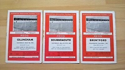 Workington v Gillingham, Brentford, Bournemouth - 65/66 season