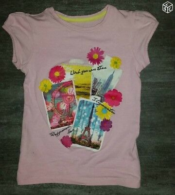 T-Shirt Mc Fille °°° Orchestra °°° 4 Ans