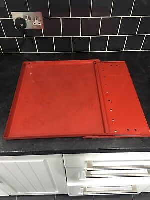 Toolbox Red Side Shelf Fits Snap On Box