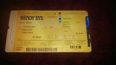 oasis beady eye.liam gallagher rare.tour tickets.set lists