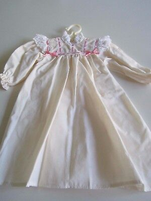 American Girl SAMANTHA 1991 Night Gown w/ Pink Ribbon A+  Original