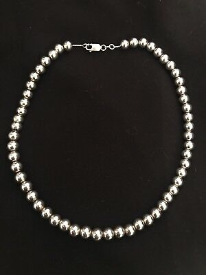 sterling silver ball necklace £180rrp