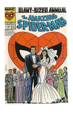 The Amazing Spider-Man Annual #21 (1986, Marvel) - Special Wedding Issue