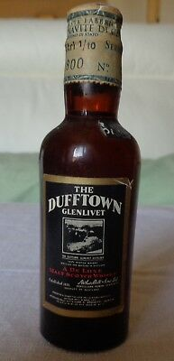 Mignon Vintage Da Collezione Whisky Dufftown 8 Years Old