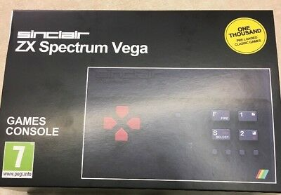Sinclair Zx Spectrum Vega With 1000 Games Brand New