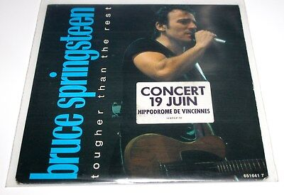 """Bruce Springsteen Tougher Than The Rest UK 7"""""""