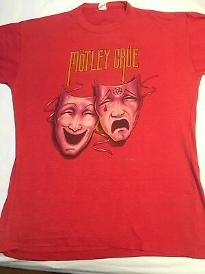 Motley Crue - original 1986 theatre of pain tour shirt