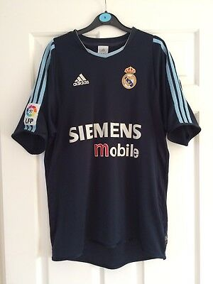 Adidas - Mens Retro Real Madrid Football Shirt - Size Small - Good Condition