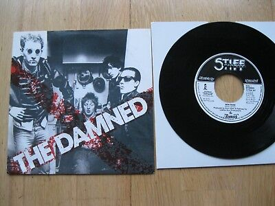"The Damned-New Rose 7""-Punk Clash Pistols Generation X Siouxsie-Benelux Repress"