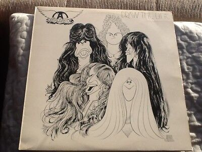 AEROSMITH DRAW THE LINE CBS 82147 demo not for sale 1977 complete near mint
