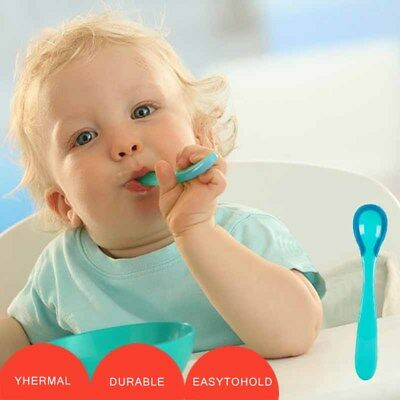 Spoon Temperature Discoloration Food supplement Baby Feeding spoon Anti-hot