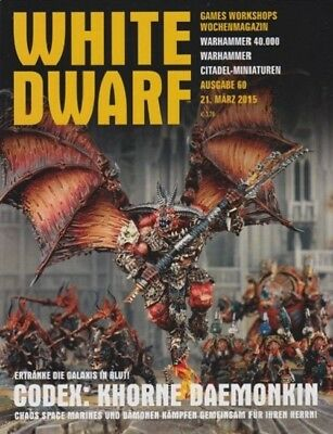 White Dwarf 60 March 2015 (German) by the 21 March 2015 Games Workshop