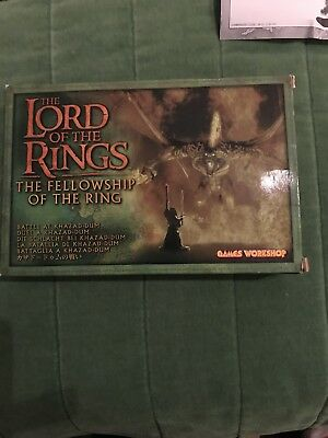 Lord Of The Rings Fellowship If The Ring Box Set Battle At Khazad-dum