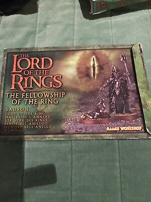 lord of the rings The Fellowship Of The Ring Sauron Box Set