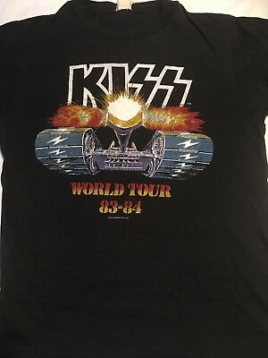 Kiss -original 1983 lick it up tour shirt