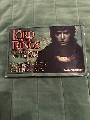 warhammer lord of the rings Box Set The Fellowship Of The Ring